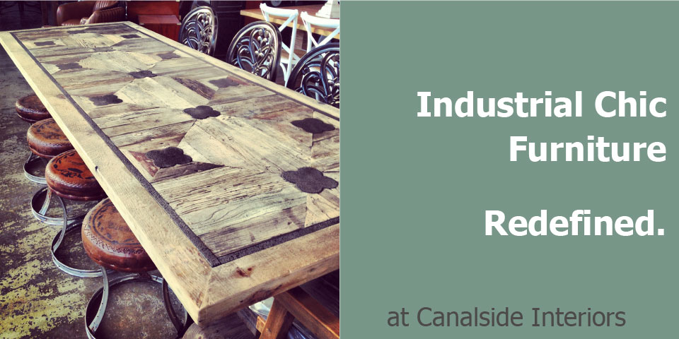 Industrial Chic Furniture Greenwich Dining Table